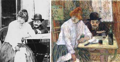 Toulouse Lautrec - The Absint Drinkers